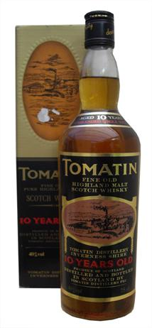 Tomatin Scotch Single Malt 10 Year Bottled By Liafail